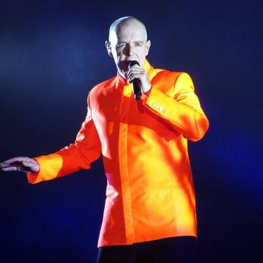 Neil Tennant. Pet Shop boys. Electric tour