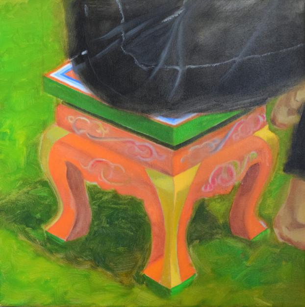 Orange Chair, 2021