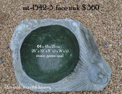 zst-1542-3  face sink
