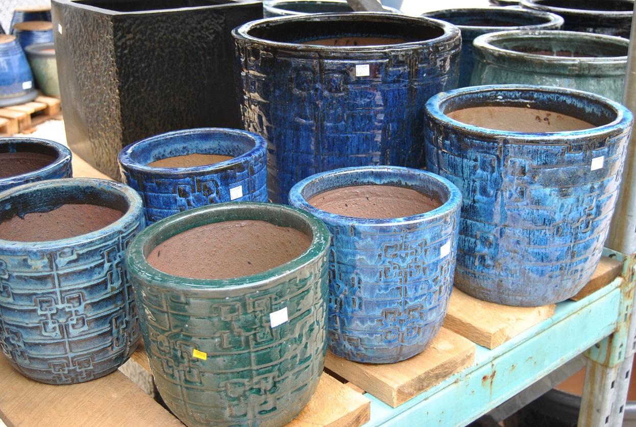 round bottom pots