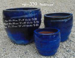 vp - 339    Beehive pot