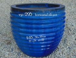 vp-295    horizontal rib pot