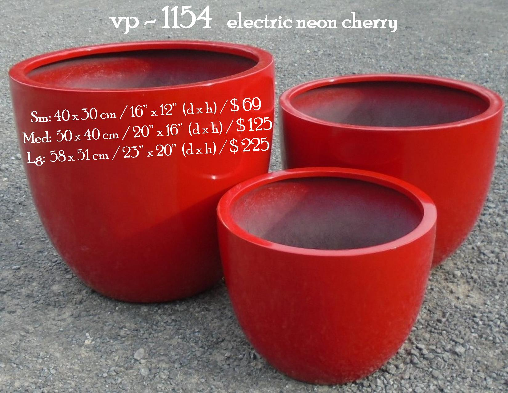vp - 1154   electric neon cherry