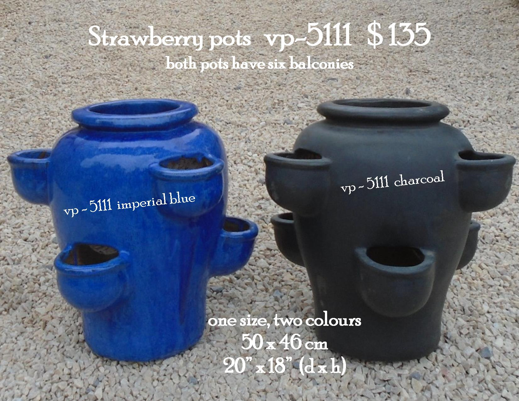 Strawberry pots   vp-5111