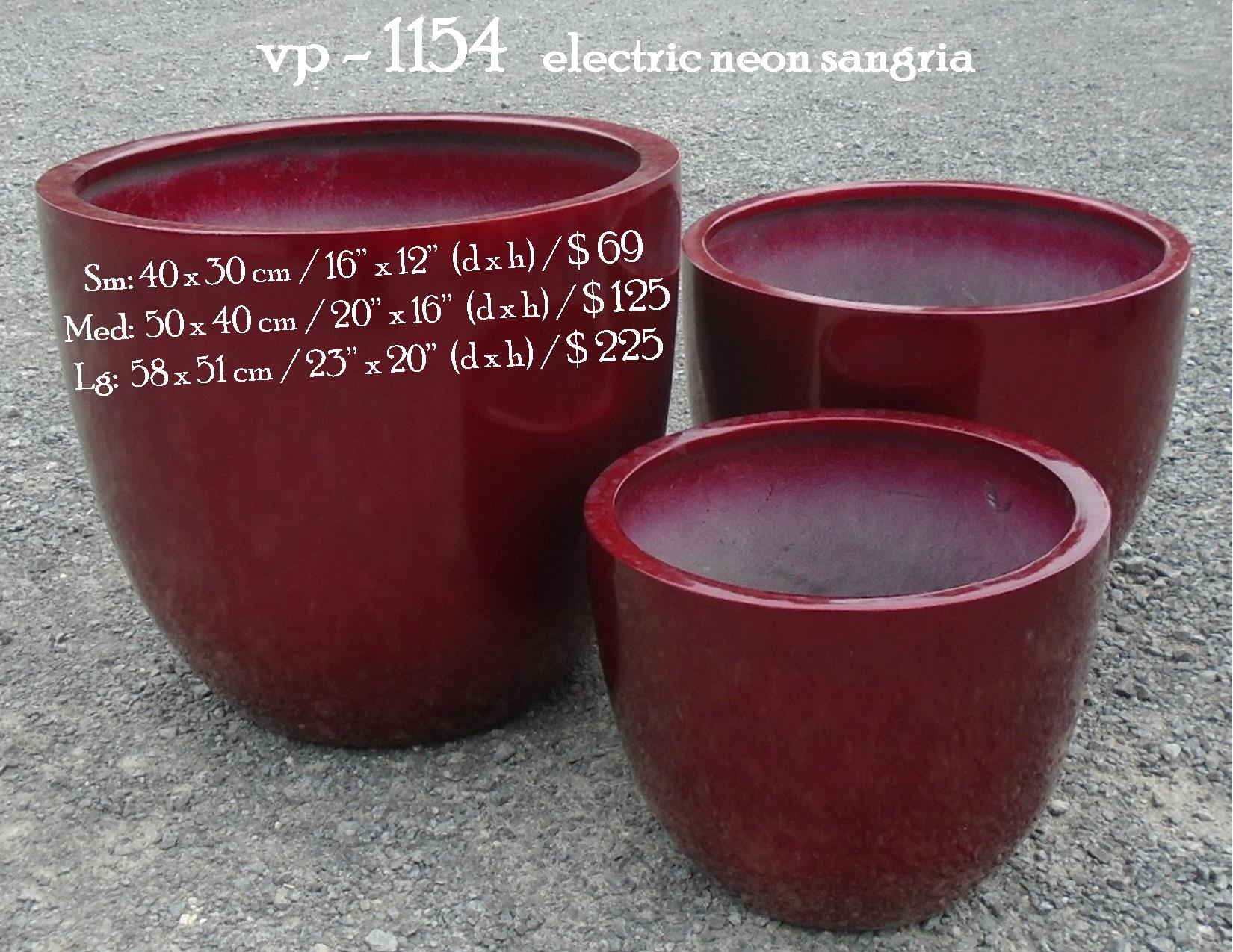 vp - 1154   electric neon sangria