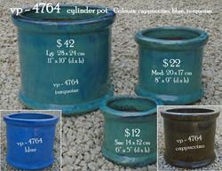 vp - 4764   cylinder pot