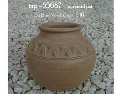 inp - 55687     pyramid pot