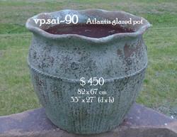 vp.sai-90    Atlantis glazed pot