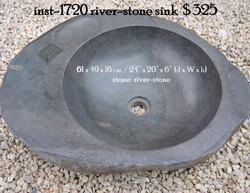 inst-1720 river-stone sink