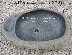 inst-1718 river-stone sink