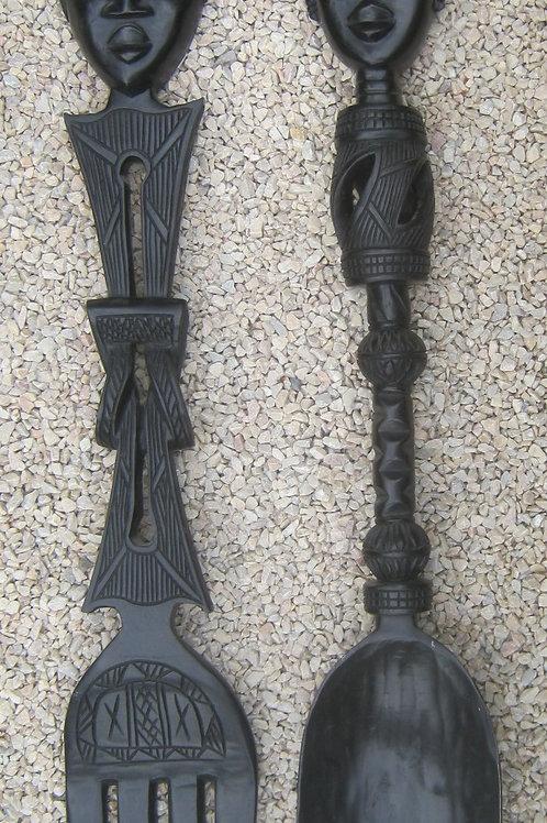 GHWS-32 - fork & spoon pair