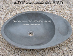 inst-1717 river-stone sink