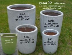 vp.sai-16    cylinder pot