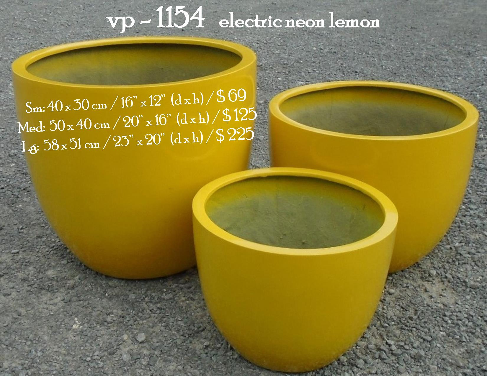 vp - 1154   electric neon lemon