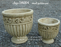 chp-58004     small goblet pot