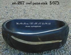 zst-1817  owl pairs sink