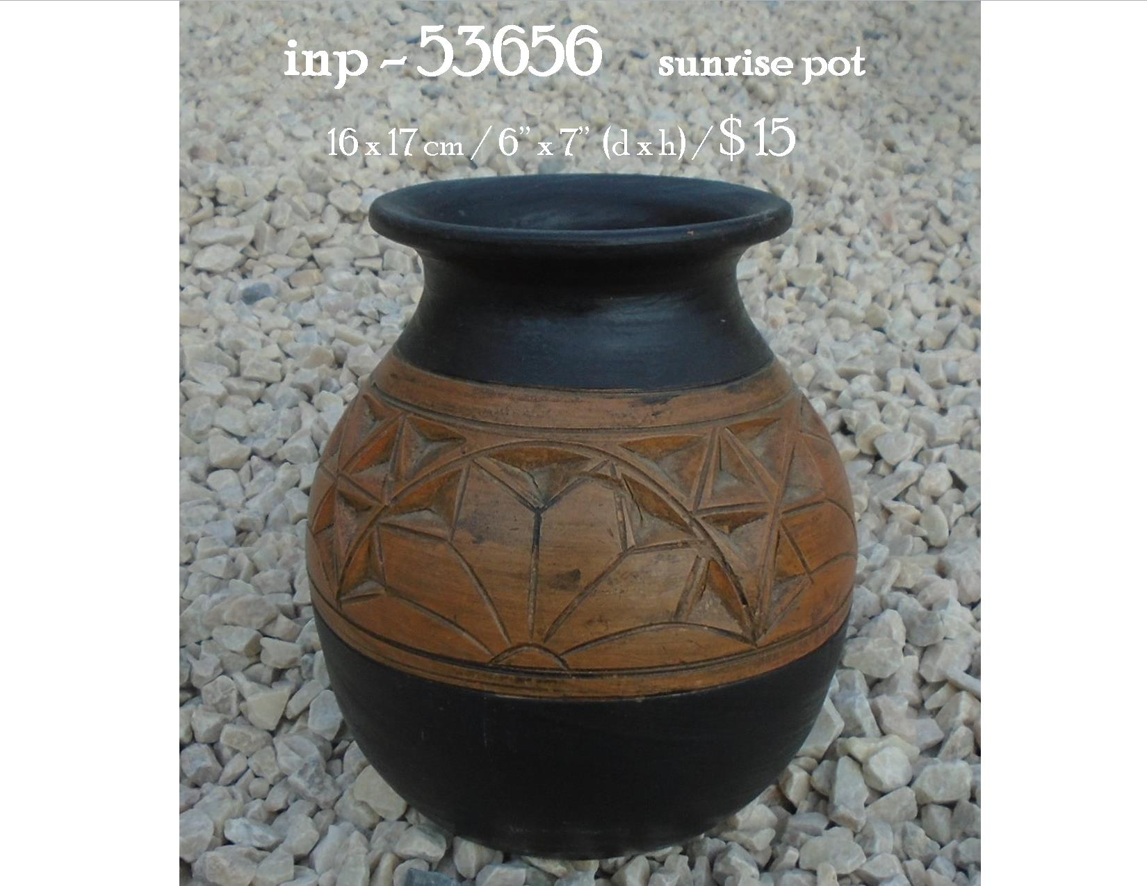 inp - 53656     sunrise pot