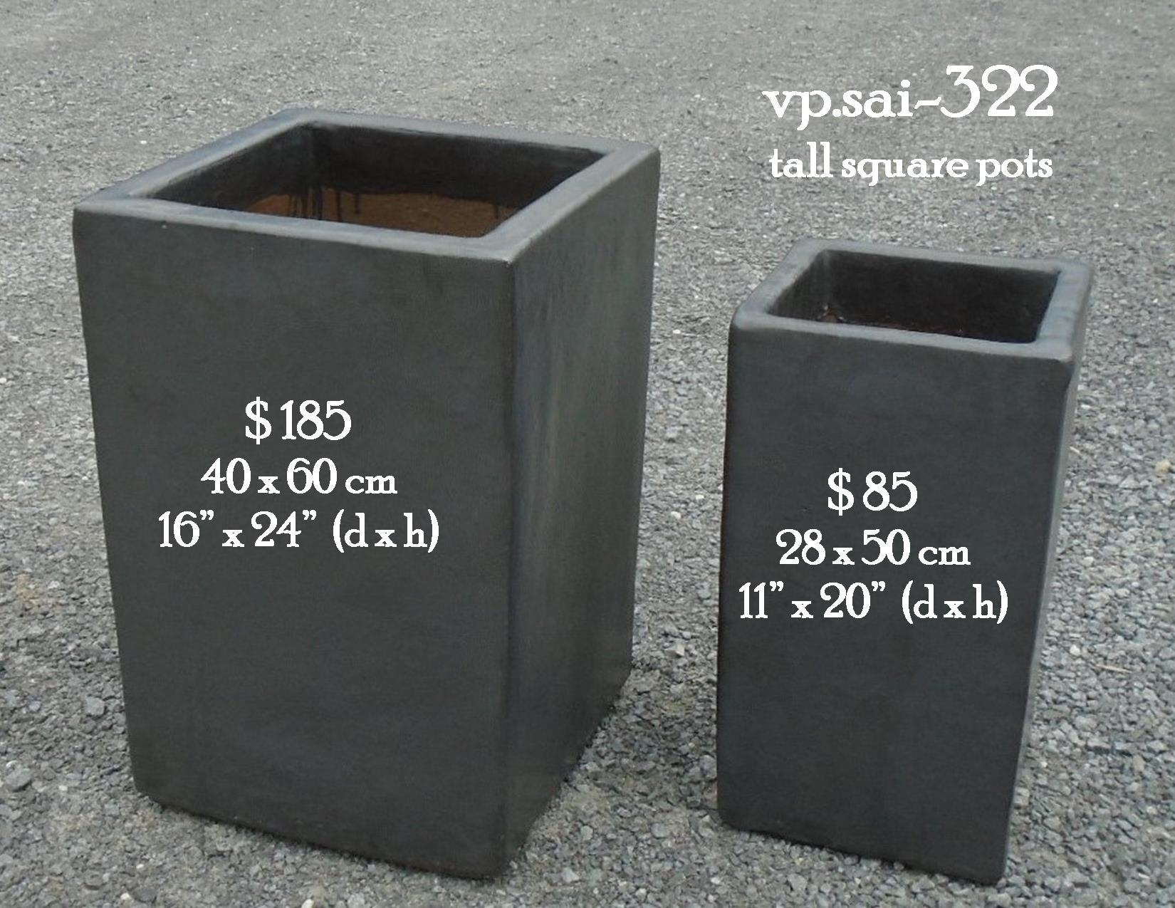 vp.sai-322    tall square pots