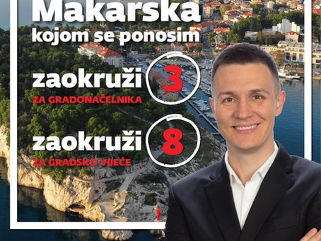 Akcijski plan za Makarsku kojom se ponosim