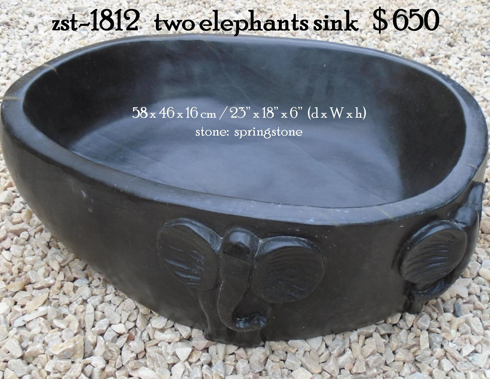zst-1812   two elephants sink