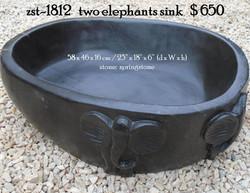 zst-1812   two elephants sink