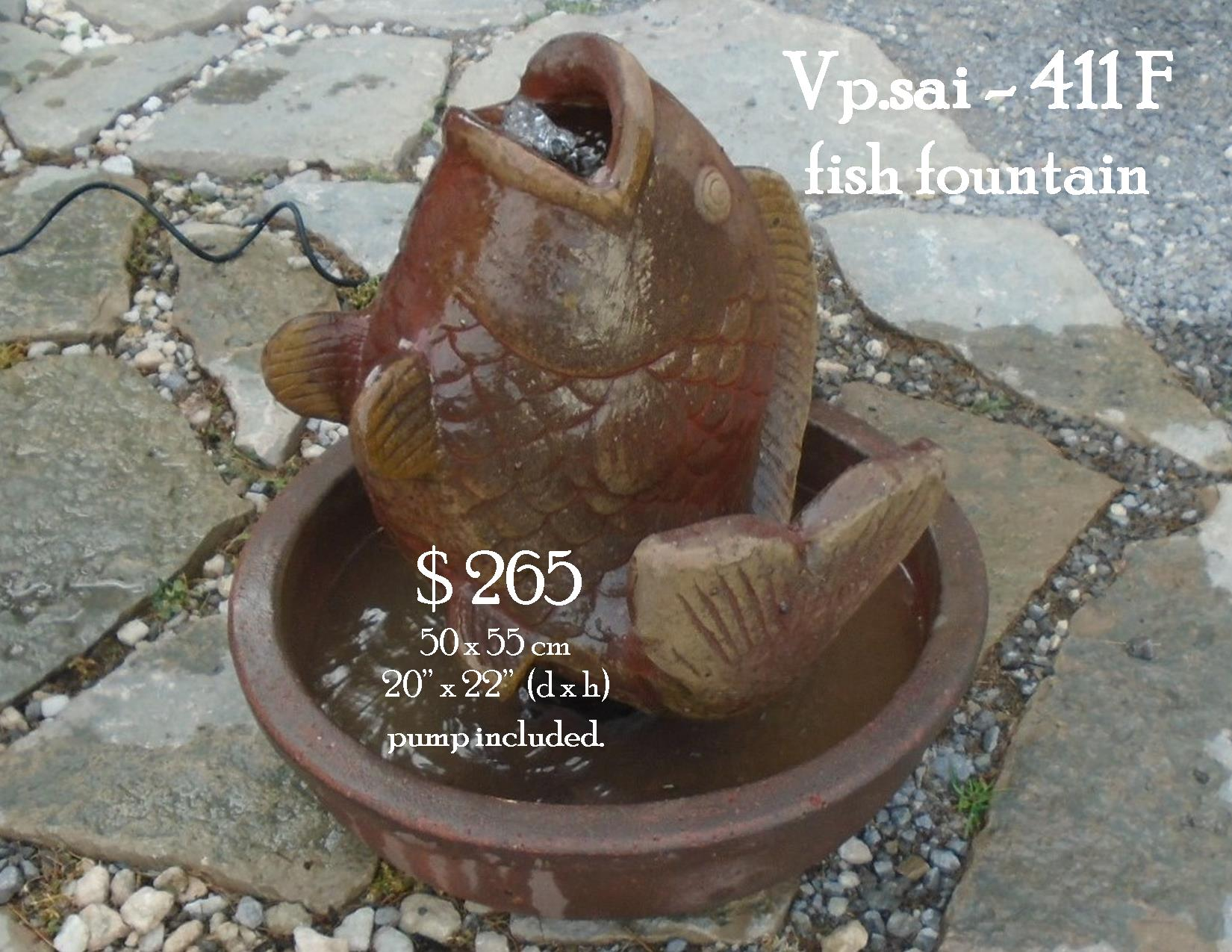 Vp.sai - 411 F fish fountain