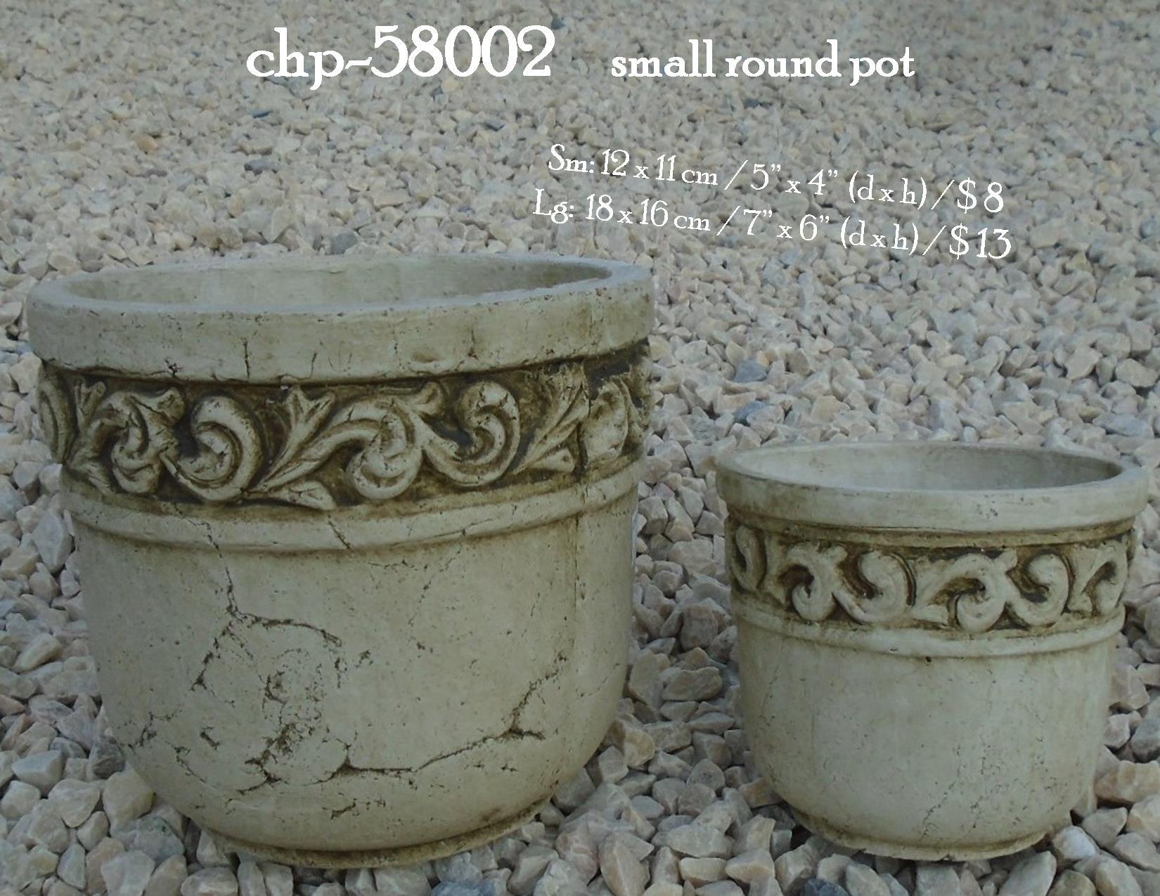 chp-58002     small round pot