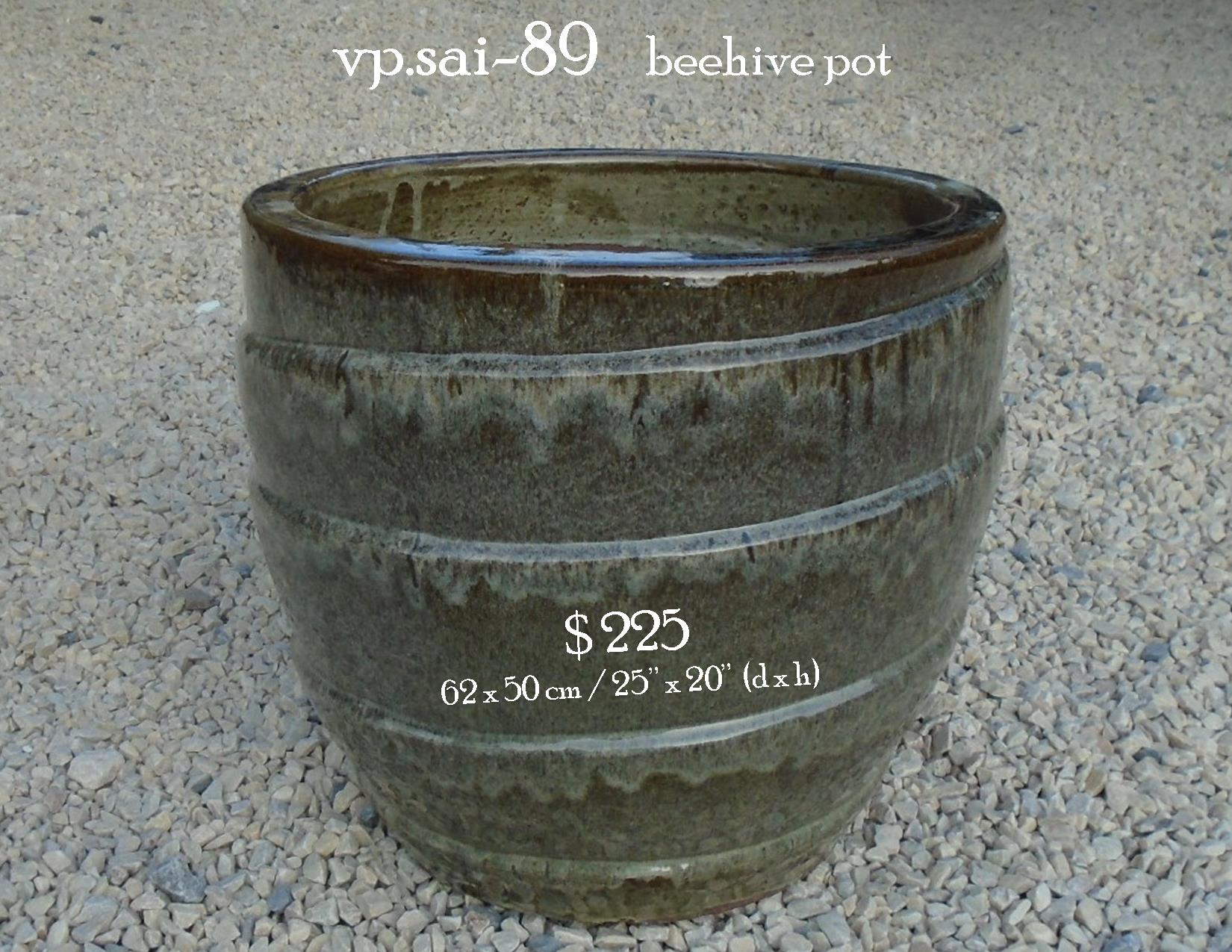 vp.sai-89    beehive pot