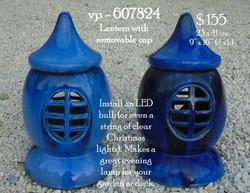vp - 607824  ceramic lantern