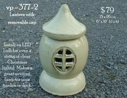 vp - 377-2   ceramic lantern