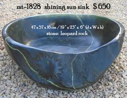 zst-1828   shining sun sink