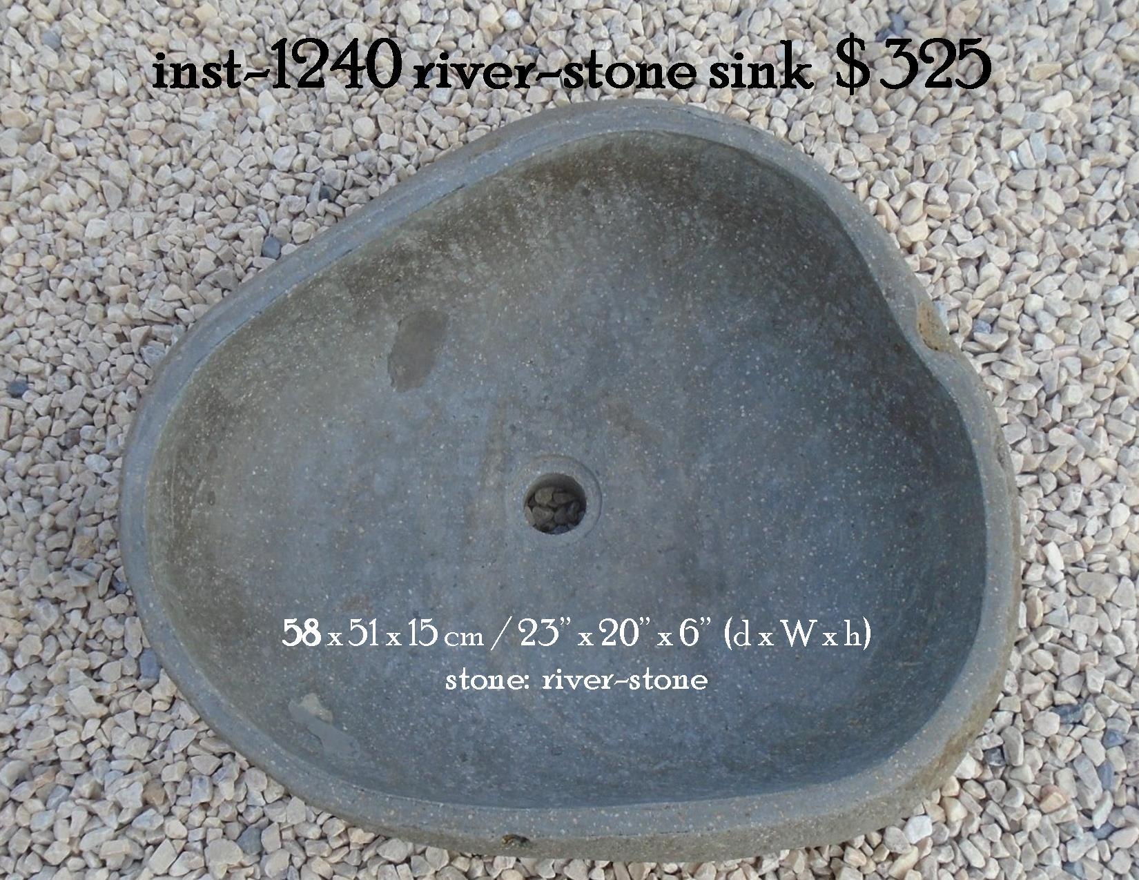 inst-1240 river-stone sink
