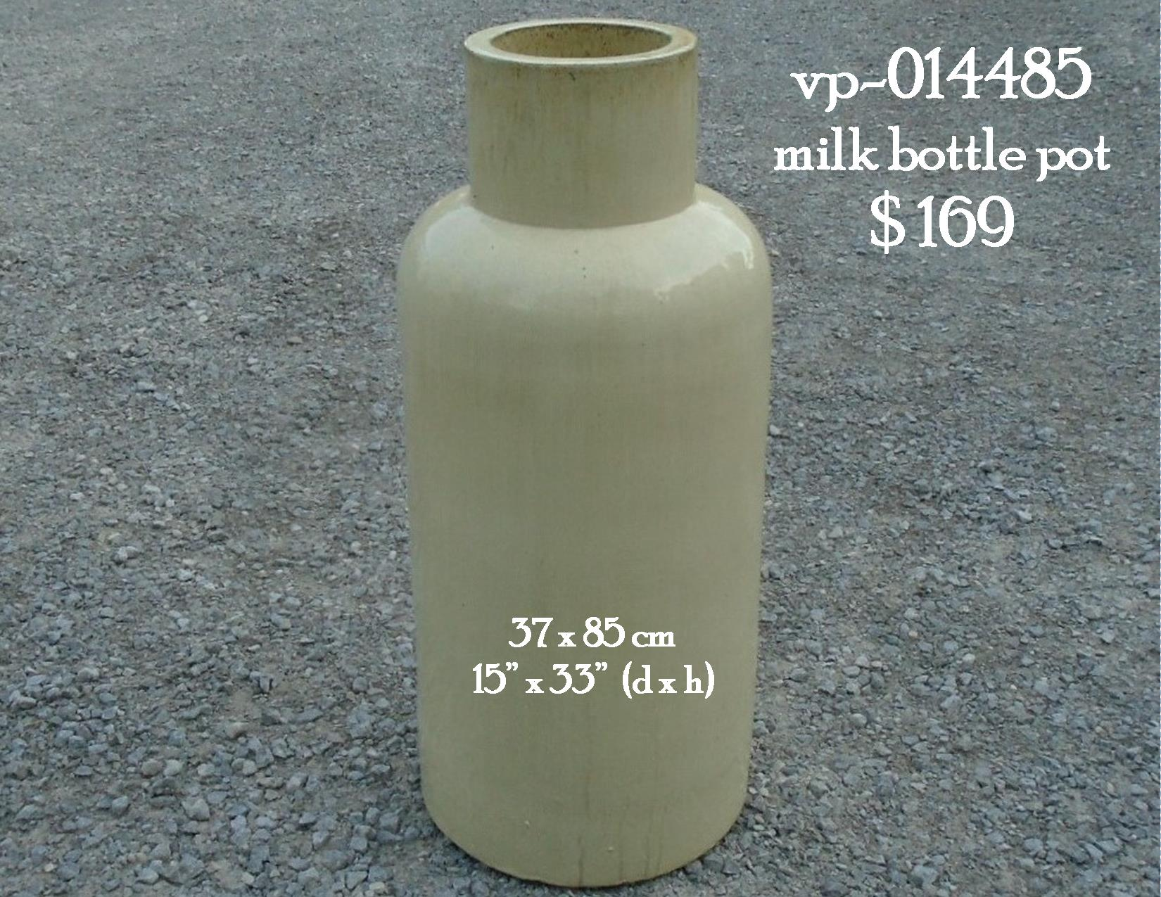 vp-014485   milk bottle pot