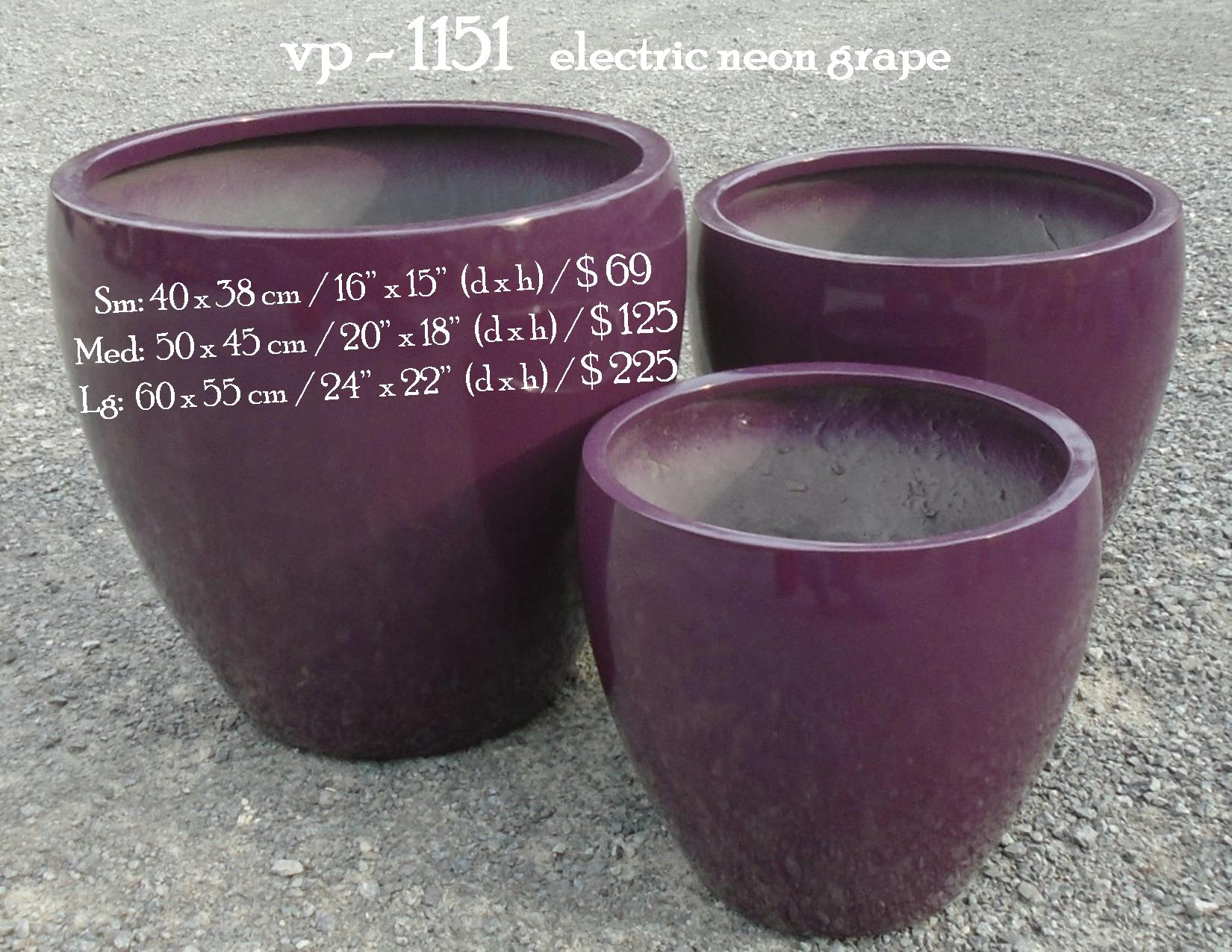 vp - 1151   electric neon grape