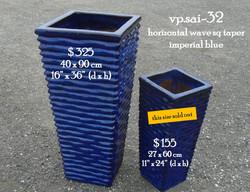vp.sai-32 horizontal wave sq taper