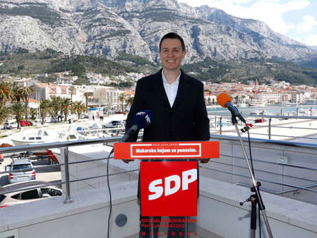 Zoran Paunović za gradonačelnika Makarske