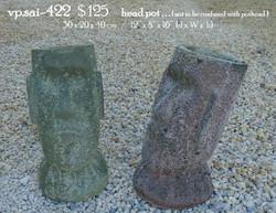 vp.sai-422   $ 125     head pot