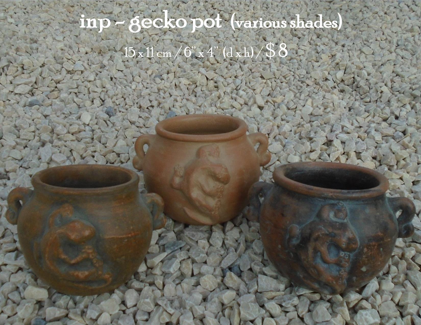 inp - gecko pot
