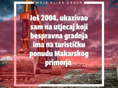 Još 2004. upozoravao sam na problem betonizacije