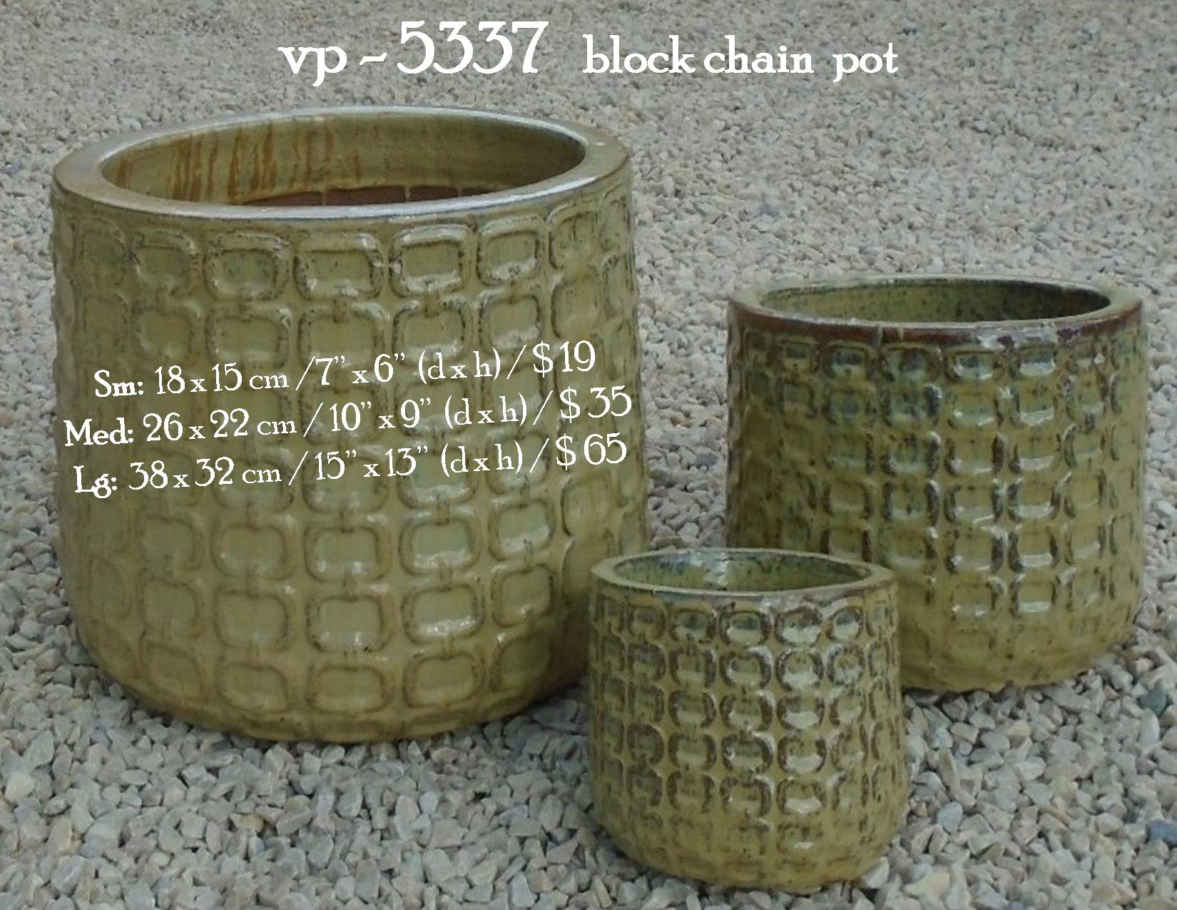 vp - 5337   block chain  pot