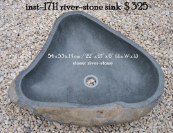 inst-1711 river-stone sink