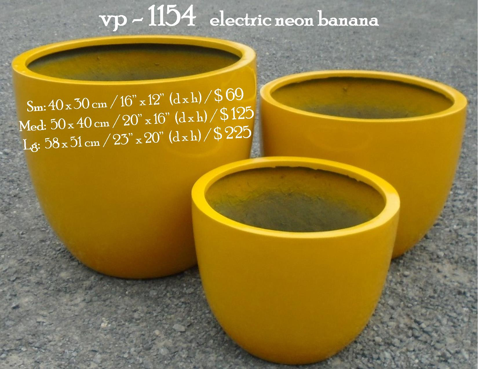 vp - 1154   electric neon banana