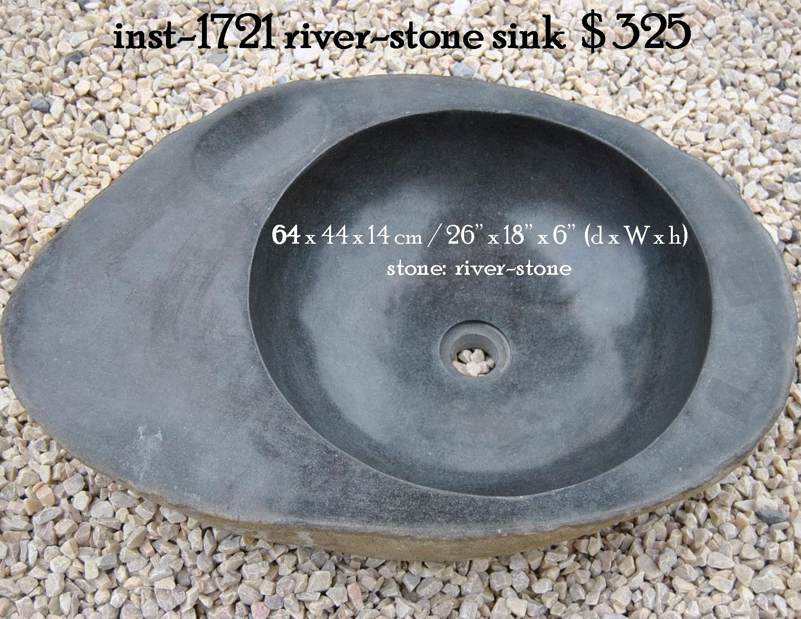 inst-1721 river-stone sink