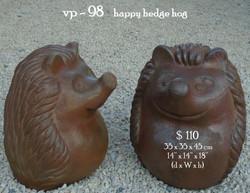 vp - 98    happy hedge hog