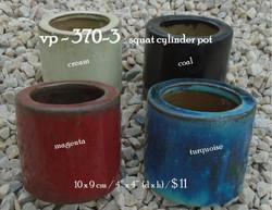 vp - 370-3   squat cylinder pot
