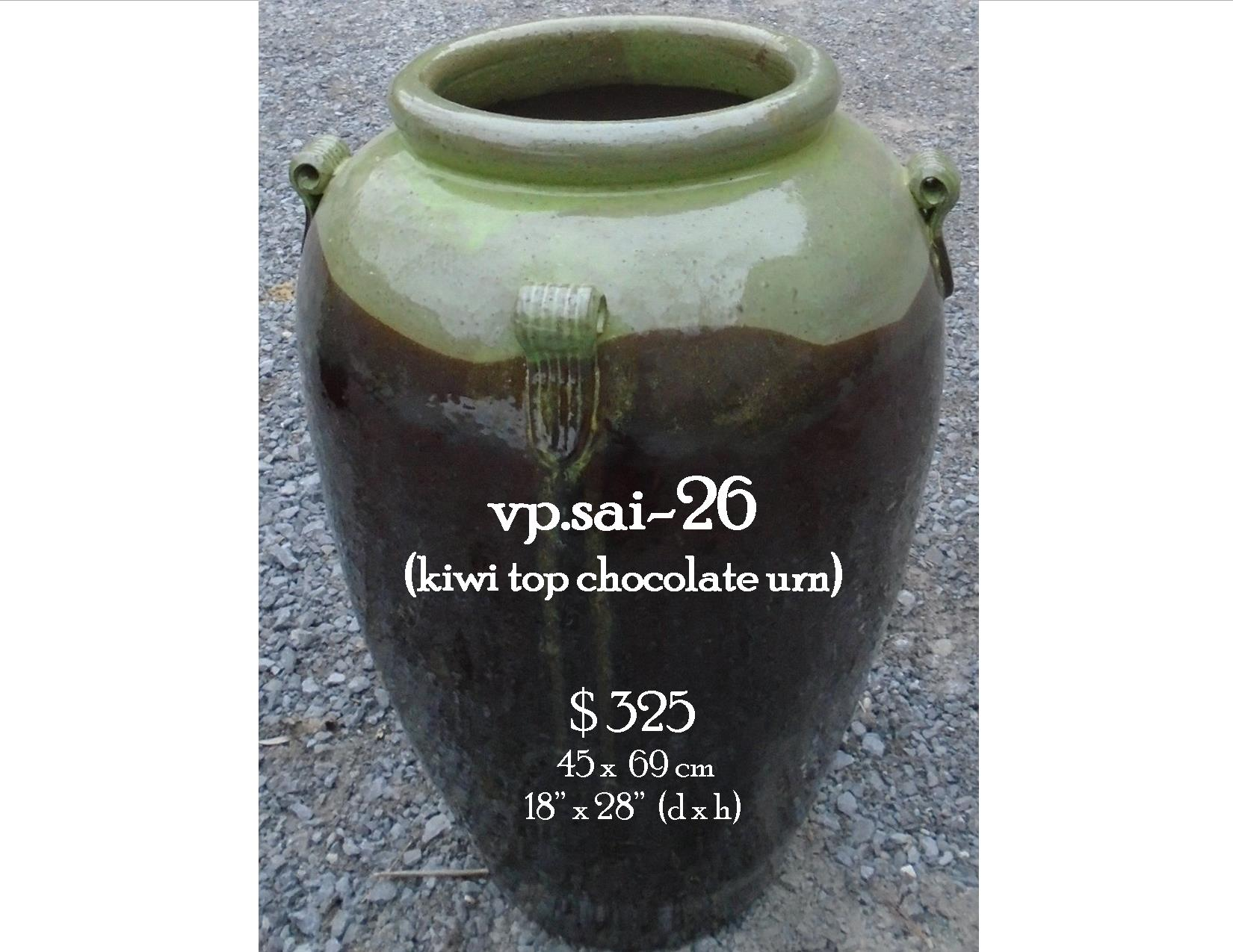 vp.sai-26  kiwi top chocolate urn