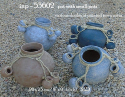inp - 53602   pot with small pots