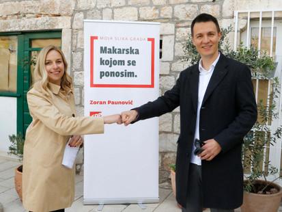 Antonia Radić Brkan, nestranačka zamjenica SDP-ova kandidata za gradonačelnika Makarske