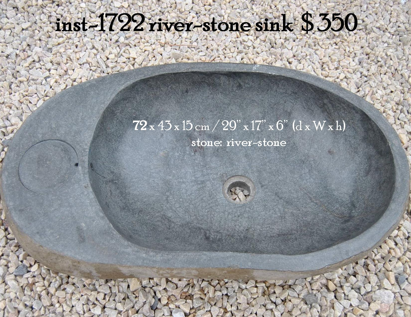 inst-1722 river-stone sink