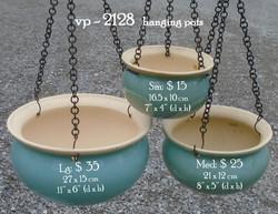vp - 2128   hanging pots